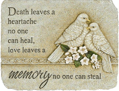death leaves heartache